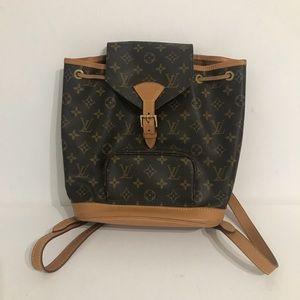 Authentic Louis Vuitton Monsouris PM Backpack
